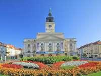 Δημαρχείο στο Kalisz - Οι γρίφοι δείχνουν το δημαρχείο στο Kalisz