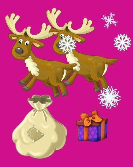 Adas kort - Välkommen till jultomten efter läggningen (4×3)