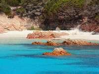 Isola di Budelli - Isola di Budelli, Spiaggia Rosa. Sardegna
