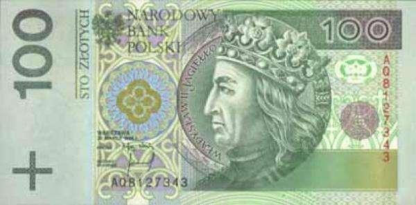 banknot 100 zł - Spróbuj ułożyć banknot 100 zł.