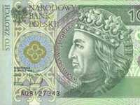 Banconota da 100 PLN - Spróbuj ułożyć banknot 100 zł.