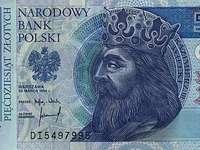 50 PLN banknote - 50 złotych. Spróbuj ułożyć banknot 50 zł. Jak ułożysz mój obrazek zobaczysz banknot 50 zło