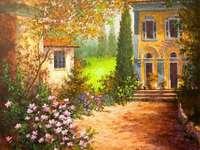 Vila padronale italiana