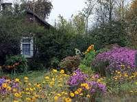 Αγρόκτημα στην εξοχή - Το εξοχικό σπίτι είναι γεμάτο λουλούδια