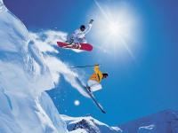 Snowboard - Snowboardowe puzzle.
