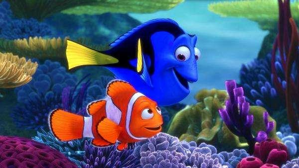 Hitta Nemo - Pussel skapade från en bild från sagan Finding Nemo (4×3)