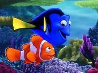 Nemo vinden - Puzzels gemaakt op basis van een afbeelding uit het sprookje Finding Nemo