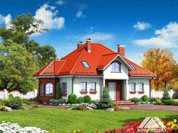 Disegni di casa - Domek Zarzecze średnie