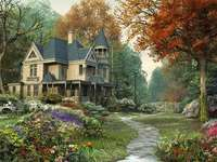 ház az erdőben