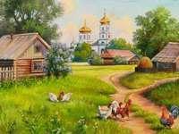 Russisch dorp