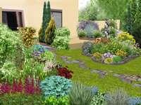 Primavera no jardim