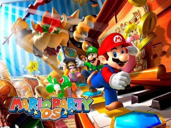 Histórias infantis - Festa de Mario Bros em ação (10×10)