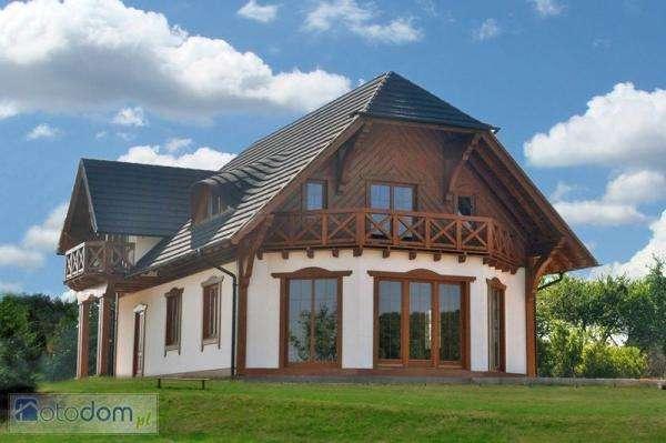 Fából készült ház - Egy nagy ház Koszalin közelében (10×10)