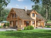 Ház az erdő közelében