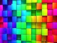 színes négyzetek