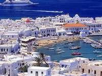 Mykonos a Grecia