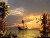 karibi kalózhajó