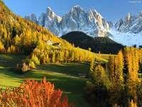 Есента в швейцарските планини