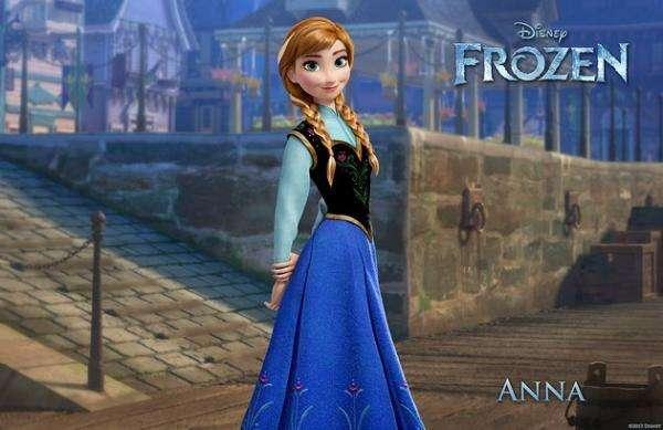 Ice Land - Κατεψυγμένα: Άννα σε ένα φόρεμα (5×3)