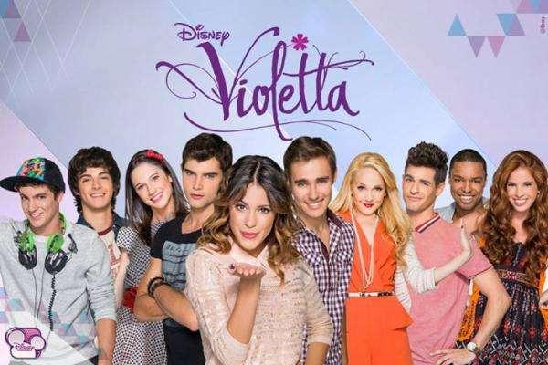 Violetta - Violetta i wszyscy aktorzy. Violetta, Leon, ludmiła (5×3)