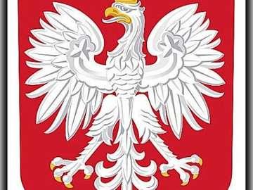 Polish emblem - godlo Polski na zajecia