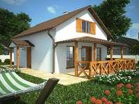 Ferienhaus mit Dachboden
