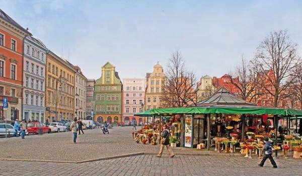 Bunte Stadt - Wrocław waro zwiedzić (10×10)