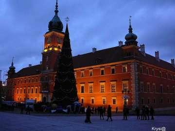 Scenario - zamek królewski w Warszawie