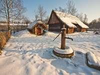 vintern på landsbygden