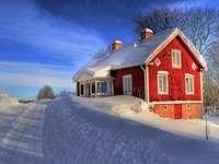 vacker vinter