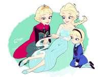 Elsa du pays de glace