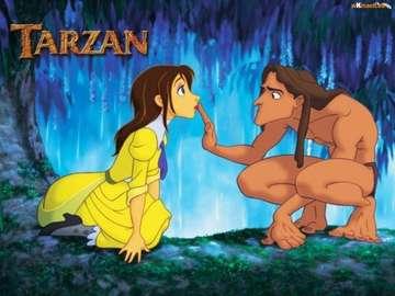TARZAN AND MONKEYS - PODAJ IMIĘ BOHATERKI