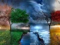 tavasz, nyár, ősz, tél