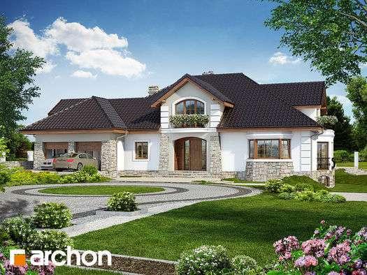 Egy nagy ház - Tetőtér és garázsok (10×10)
