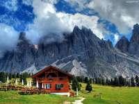 Alpen, Nebel, Schutz