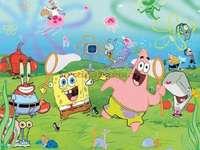 spugna di mare - spongebob kanciastoporty i przyjaciele