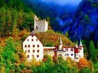 slott i skogen