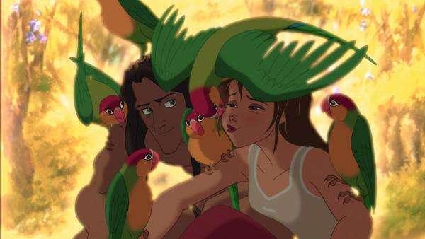 Тарзан и Джейн - Тарзан и Джейн. Тарзан и Джейн сред птиците (3×3)