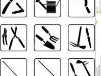 outils de jardinage - Spróbuj ułożyć narzędzia