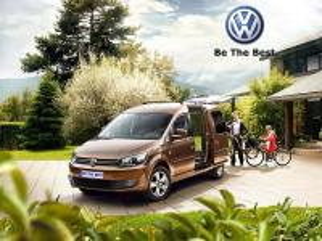 Caddy samochód i rower - Samochód użytkowy idealny na wycieczki