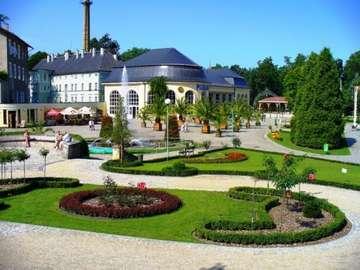 Kudowa Zdrój - Piękny park zdrojowy w Kudowie