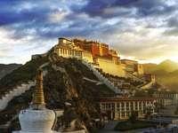 Potala Palace i Tibet