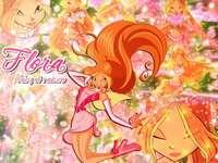 Winx Club Flora - Winx Club Flora Transformation Charmix