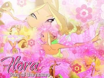 Winx Club Flora - Winx Club Flora Transformacja Harmonix