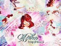 Winx Club Layla - Winx Club Layla Transformation Harmonix