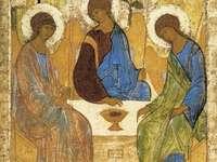 Szentháromság ikonra