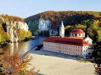 Weltenburg i Tyskland