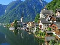 Alpint landskap