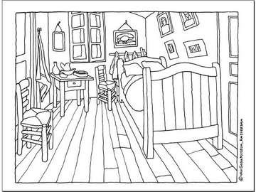 camera van gogh - la camera di van gogh