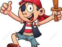 pirata dei caraibi - pirati dei caraibi per caccia al tesoro